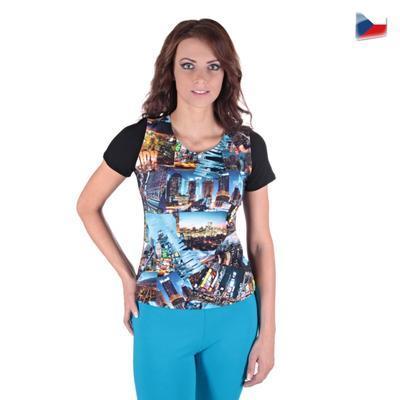 Dievčenské tričko Baily s moderným potlačou - 4