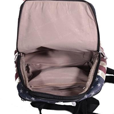Štýlový batoh Natálie motív Amerika 2A - 4