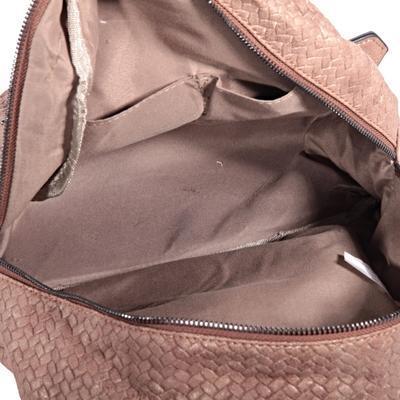 Stylový hnědý batoh Enie - 4