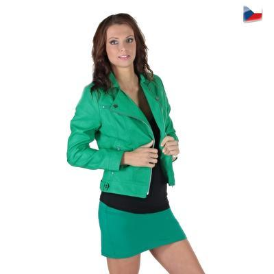 Tmavo zelená sukne Ashly - 4