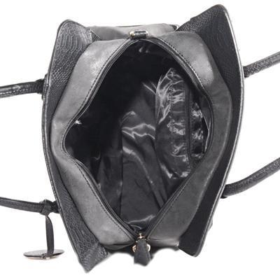 Elegantní černá kabelka Gipy - 4
