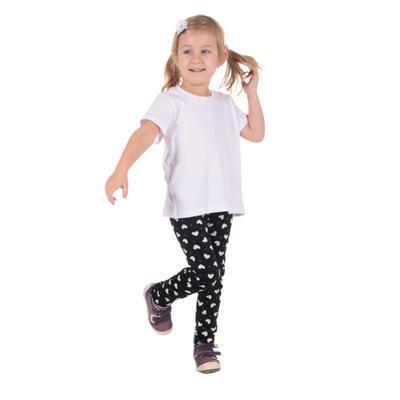 Detské tričko krátky rukáv Laura biele od 122-146 - 4