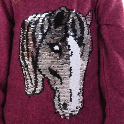 Dívčí svetr s měnícím obrázkem Pedro - 4