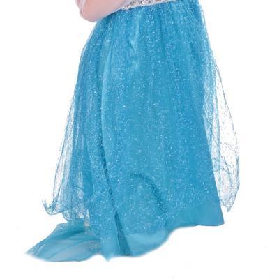 Karnevalový kostým princezna Elsa modré - 4