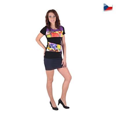 Elegantné tričko Naill fialovej - 5