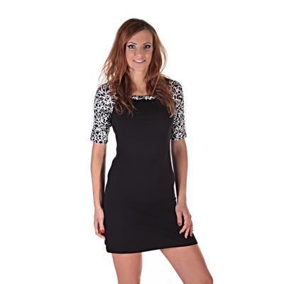 Elegantné dámske šaty Black - 5