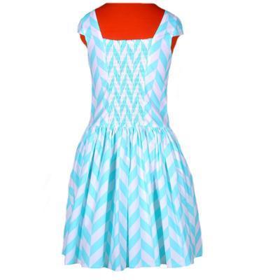 Tyrkysové šaty Bethany - 5