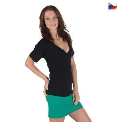Tmavo zelená sukne Ashly - 5