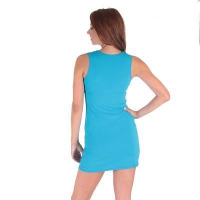 Tmavo modré letné šaty Pandora - 6