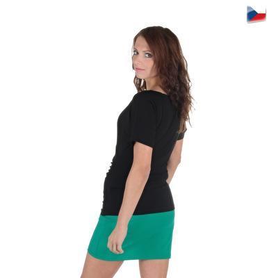 Tmavo zelená sukne Ashly - 6