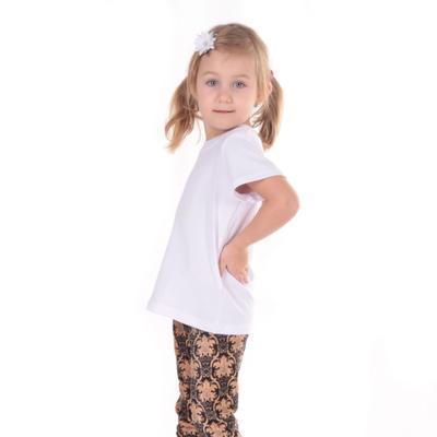 Detské tričko krátky rukáv Laura biele od 122-146 - 6