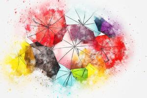 Veselé deštníky do aprílového počasí
