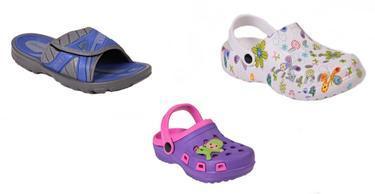 Veselé gumové topánky a papuče nielen pre parádu