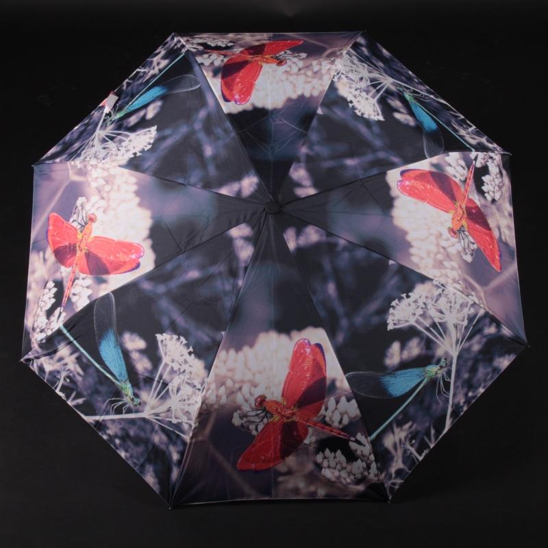 Skladací trendy dámsky dáždnik